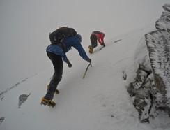 Winter skills Snowdonia