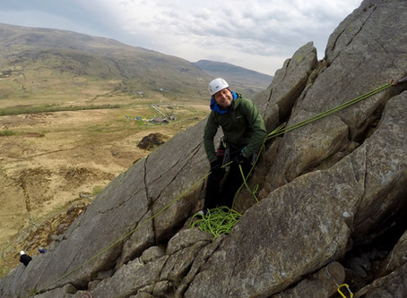 Single to Multi Pitch Climbing