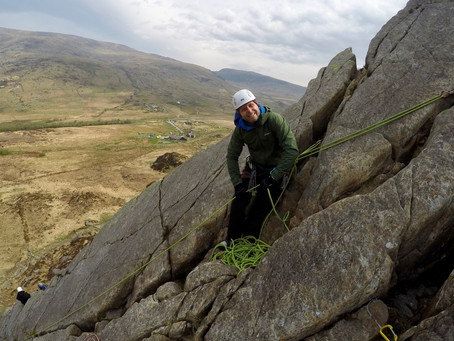 Single to Multi Pitch Climbing