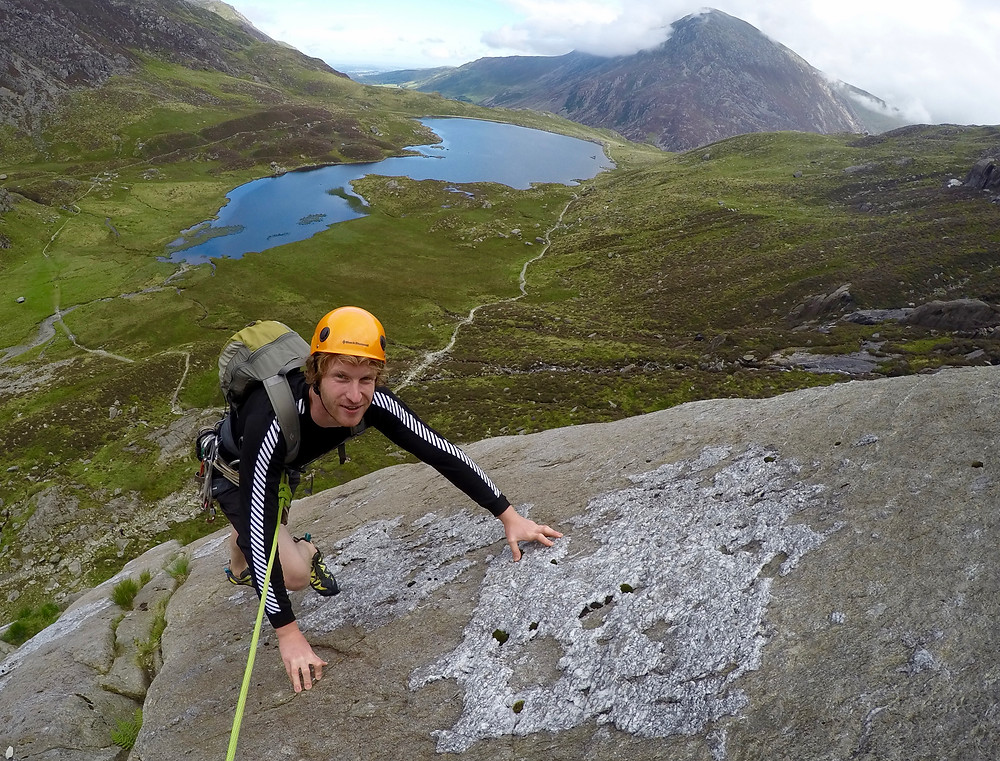 Tennis Shoe and Cwm Idwal