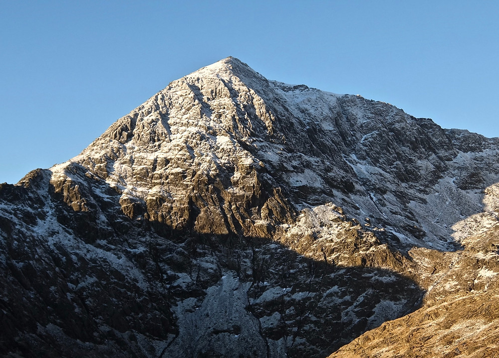 Snowdon looking good on the way up