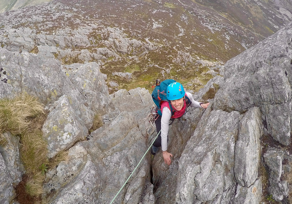 Grooved Arete