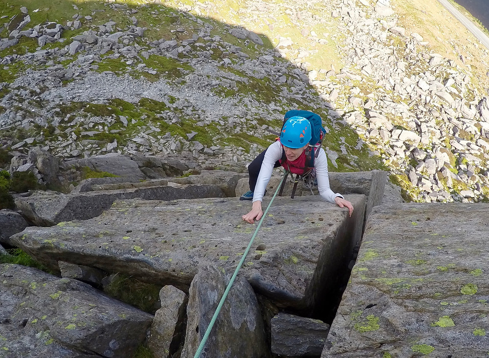 Direct Route on Milestone Buttress