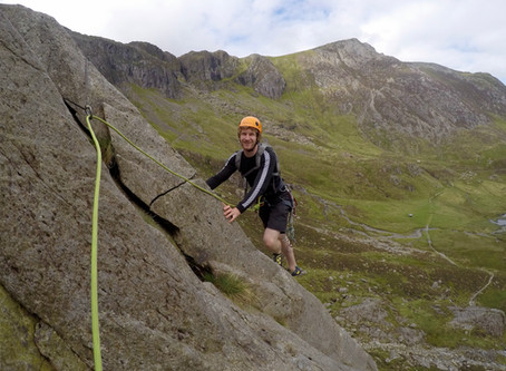 Classic Rock Climbing day in Cwm Idwal