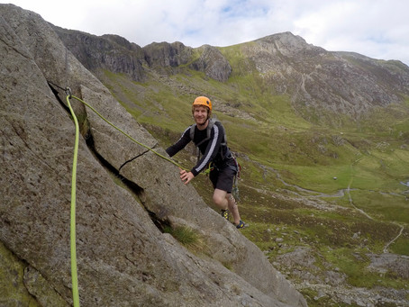 Classic Rock Climbing day in Cwm Idwal