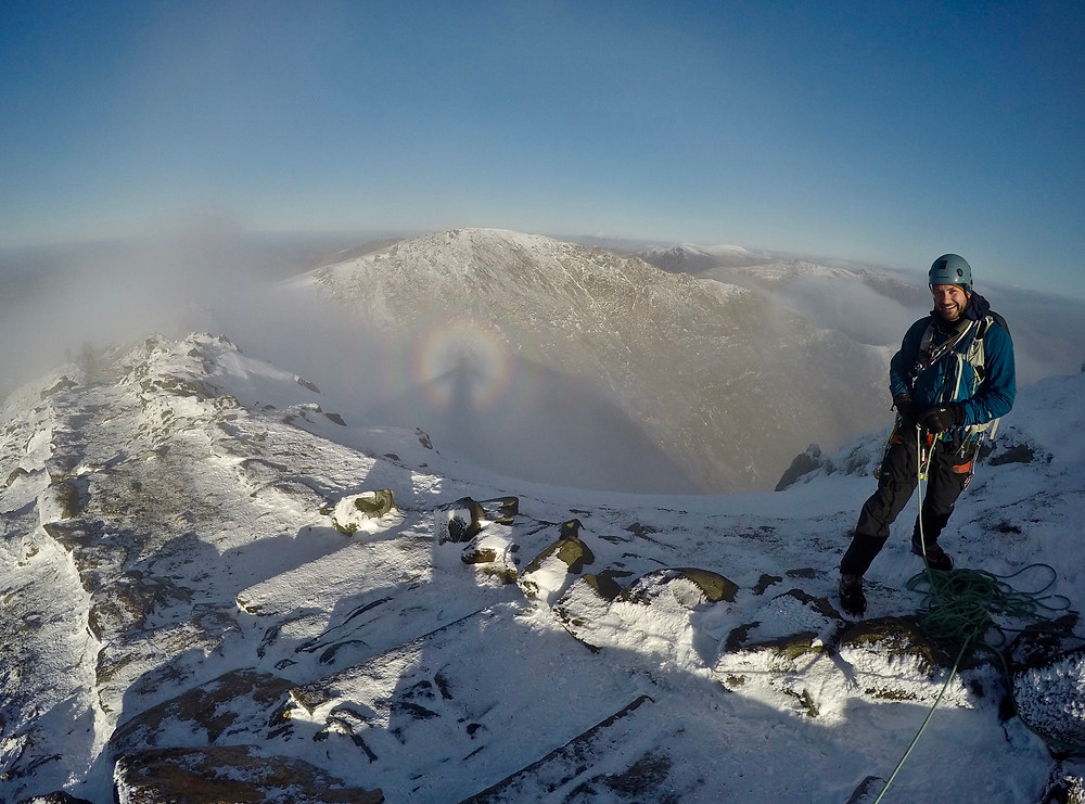 Brocken Spectre at the Summit of Snowdon