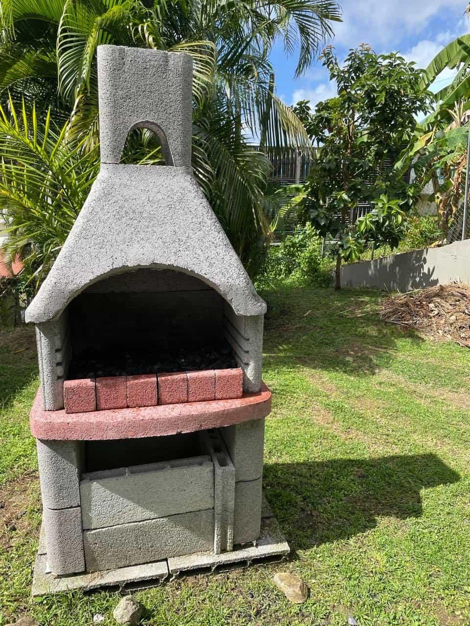 La villa martiniquaise barbecue