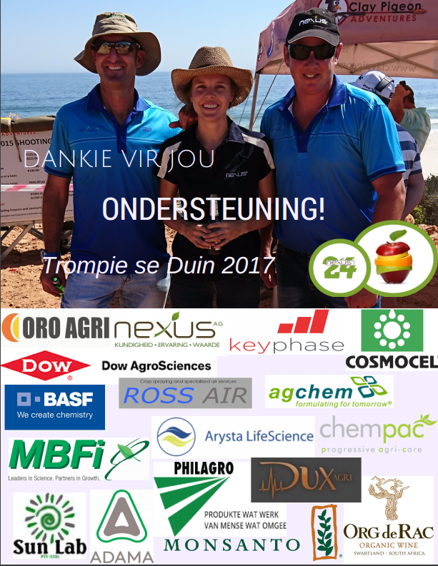 Dankie vir jou Ondersteuning
