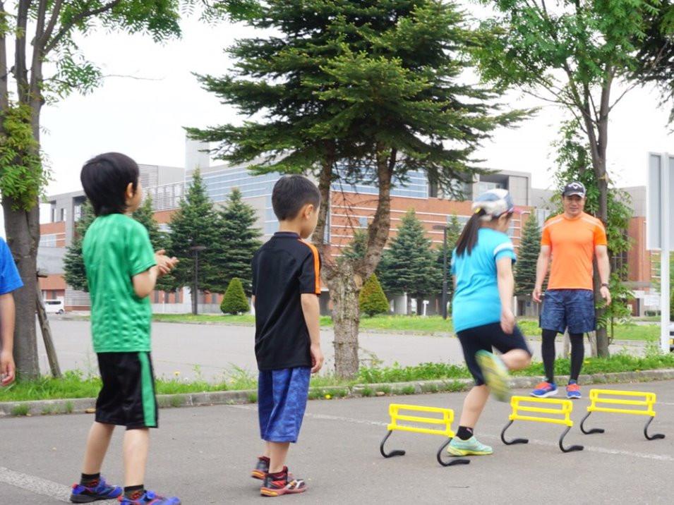 小学生走り方教室|旭川市