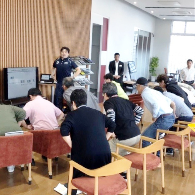 旭川トヨタ・東京海上共同イベント|運動能力向上レッスン|サワダプライベートジム