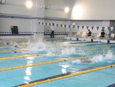 水泳大会参加