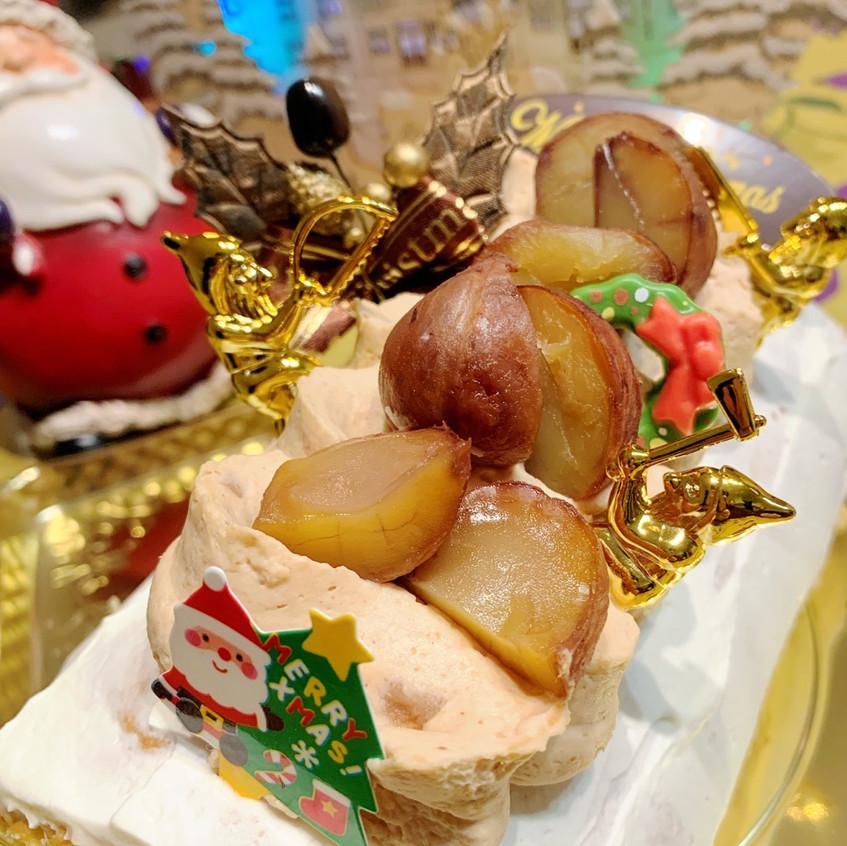 アンジュールのクリスマスケーキ