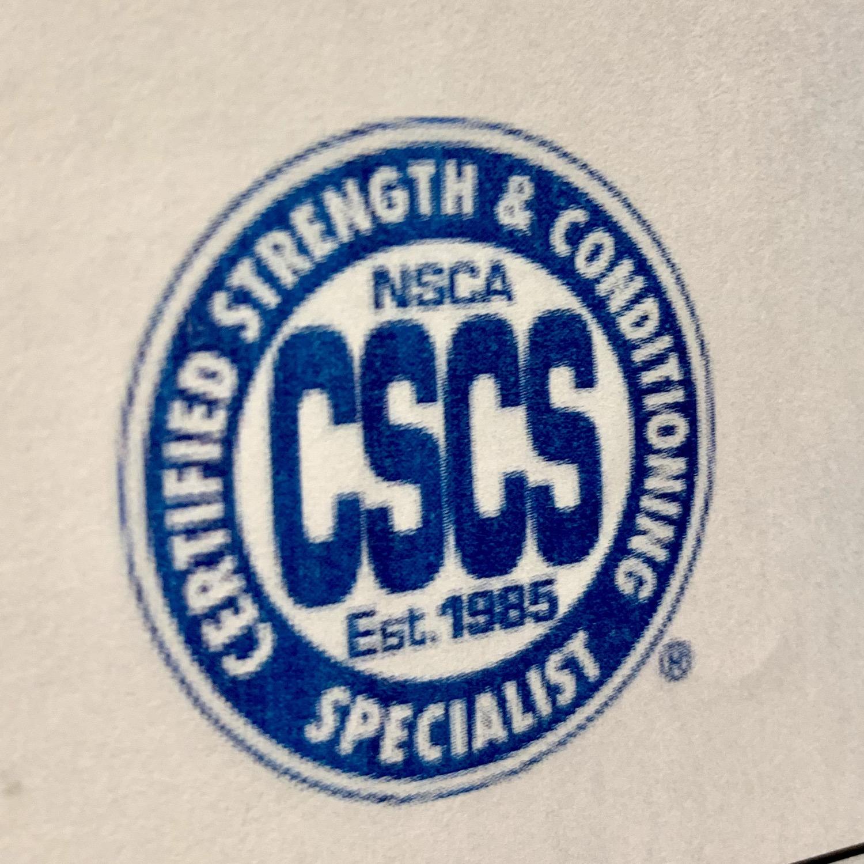NSCAのトレーナー上位資格に合格