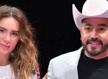 Belinda echa humo por revelaciones de Lupillo Rivera