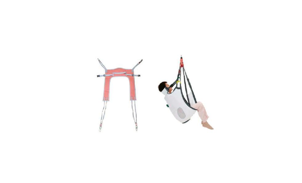 移動用リフトの吊り具の部分
