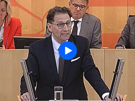 """VIDEO - Frank Grobe (AfD): """"Schwarz-grün hat dem hessischen Hochschulstandort Schaden zugefügt"""""""