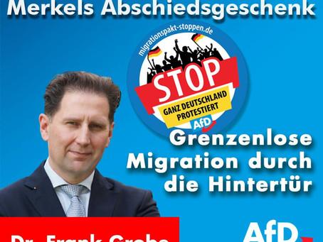 UN-Migrationspakt als Merkels Abschiedsgeschenk