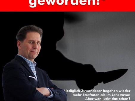 """Wahrheitsministerium proklamiert: """"Hessen ist sicherer geworden!"""""""