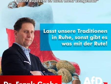 """Grüne meinen: """"Knecht Ruprecht ist nicht mehr zeigemäß"""""""