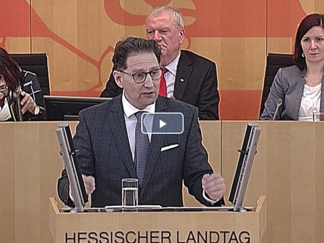 Video: Antwort auf die Regierungserklärung - der hessische Koalitionsvertrag verdient viel Kritik