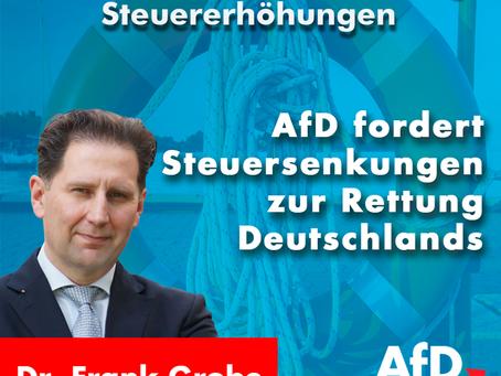 SPD fordert zur Rettung der Welt Steuererhöhungen