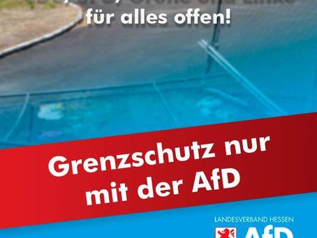 Grenzschutz nur mit der AfD!