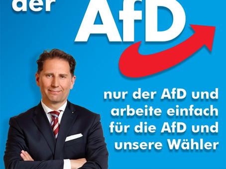 Ich bin Mitglied der AfD!