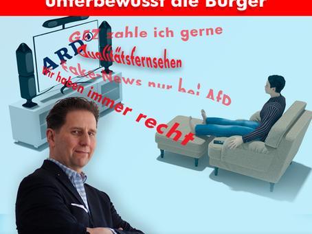 Orwell lässt Grüßen: Merkel und ARD beeinflussen unterbewusst die Bürger