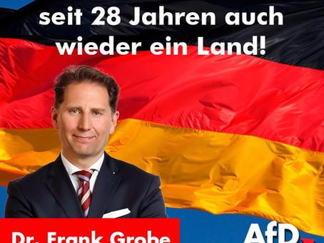 Immer schon ein Volk, seit 28 Jahren auch wieder ein Land!