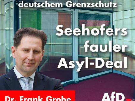 Seehofers fauler Asyldeal