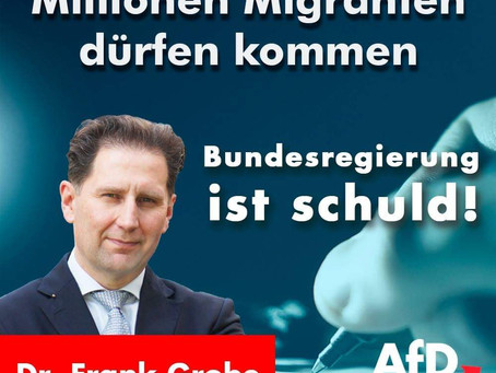 Millionen Migranten dürfen kommen!