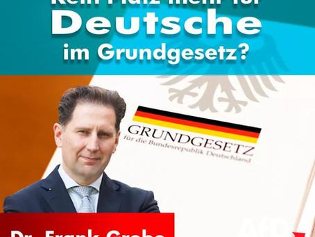 Kein Platz mehr für Deutsche im Grundgesetz?