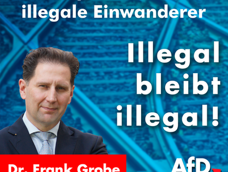 Illegal bleibt illegal!