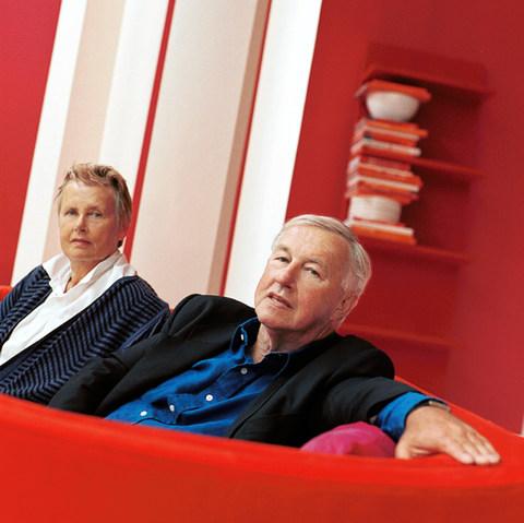 Terrence Conran & Priscilla Carluccio for The Obserever, London