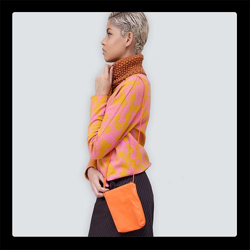Kleine Ledertasche mit Strap erhältlich in vielen schönen  bunten Farben
