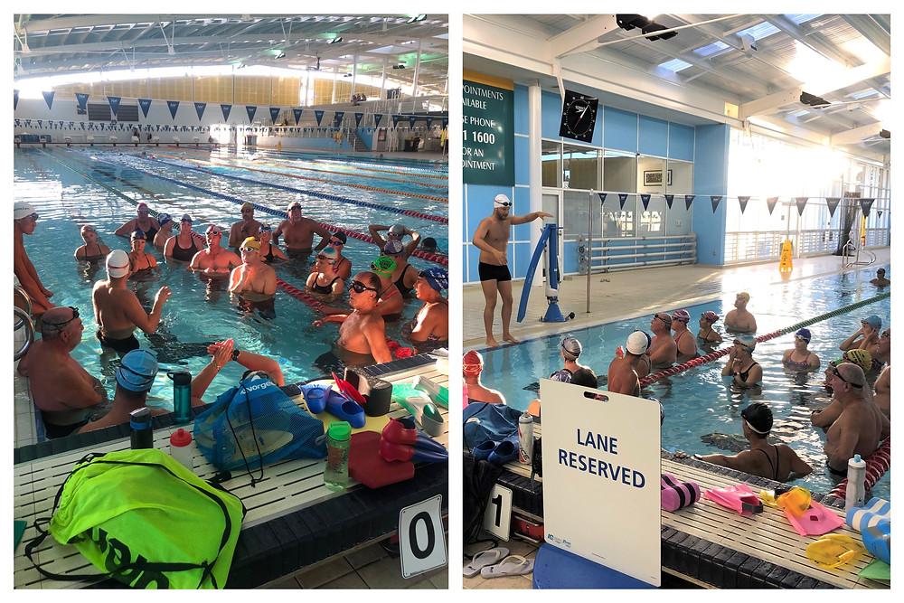 Jarrad Lawford West Coast Masters Swimming Club Stroke Clinic