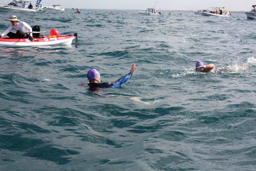 Rottnest Channel Swim Changeovers