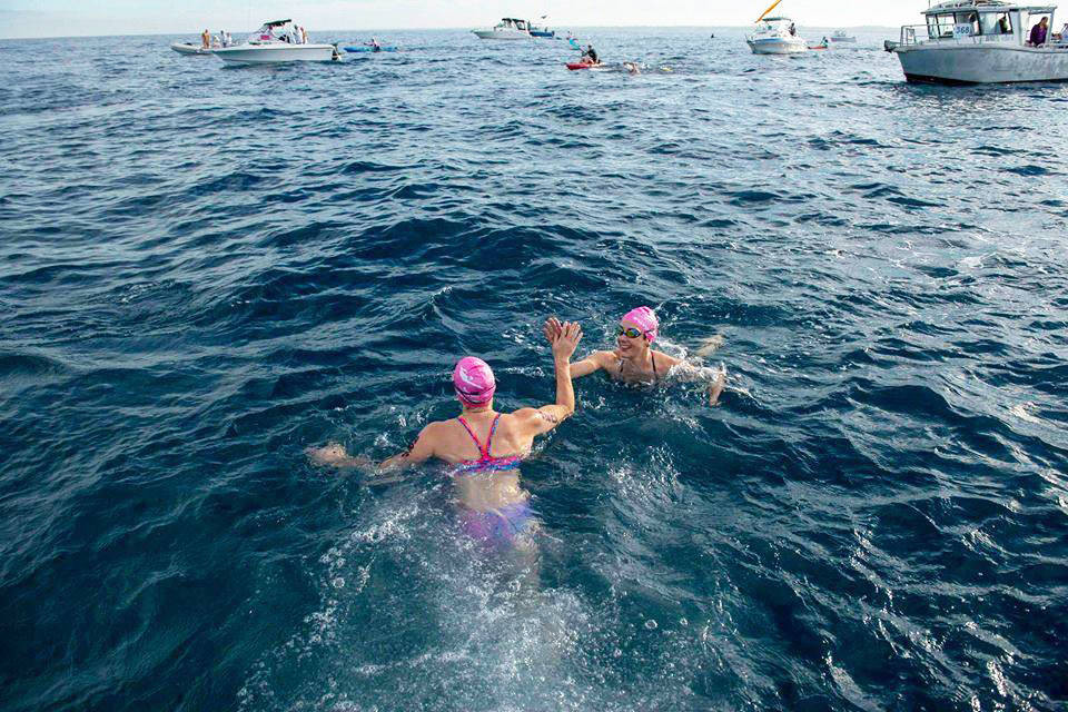 Training for the Rottnest Channel Swim requires preparing for any conditions. Swimming in the ocean or river is a great way to adjust to any swell, wind or waves that may meet you on race day.