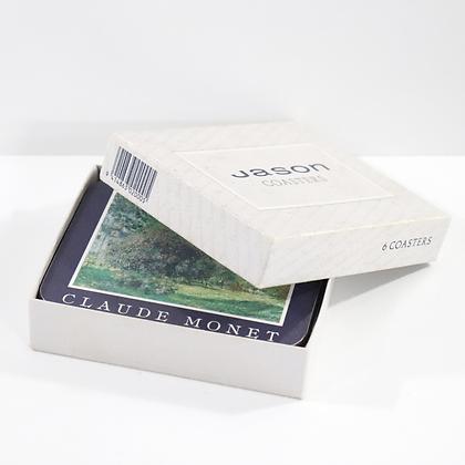 6 Piece Claude Monet Coasters
