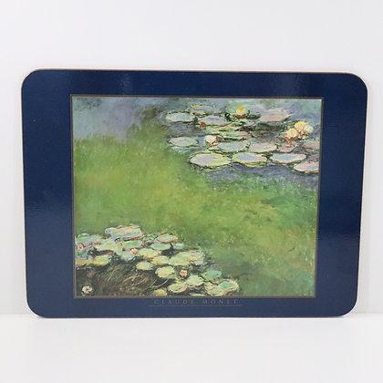 6 Piece Claude Monet Placemat set