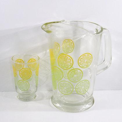 2PC Lemon Jug& Cup