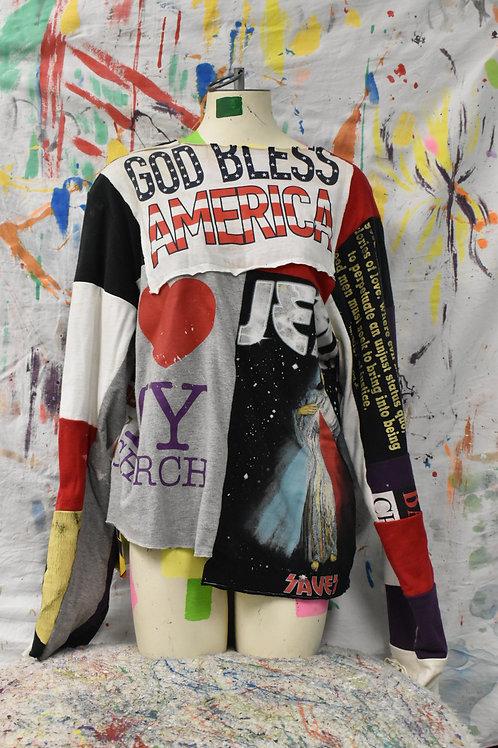 God Bless America Sweater