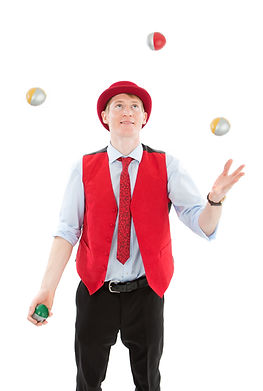 Juggling Balls Entertainer in North Yorkshire