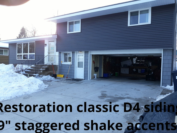 Certainteed Restoration Classic and Edco Enhanced Slate Project