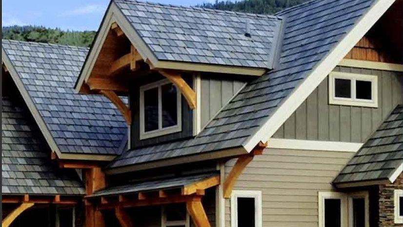 Edco Steel Slate roof