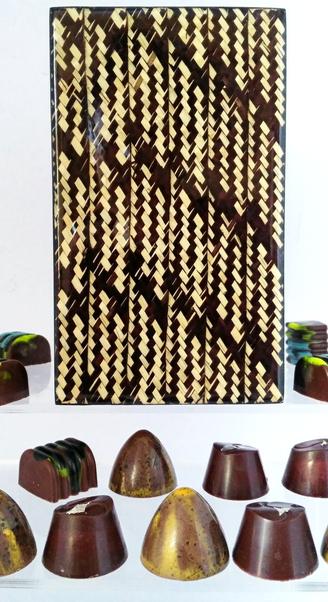 Caja para chocolate regalo lujo