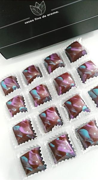 Caja para chocolate regalo