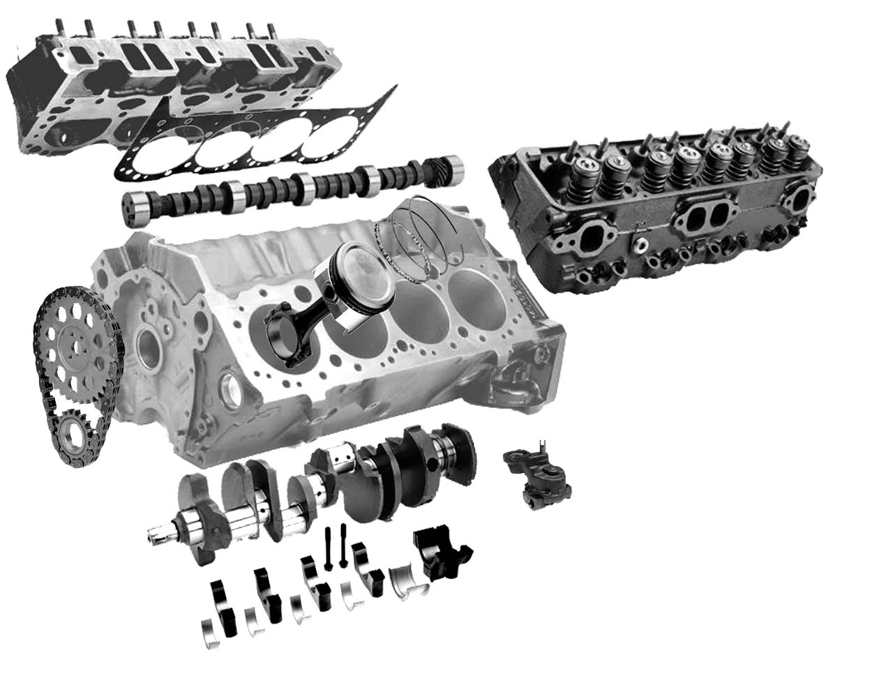 All Engine Components