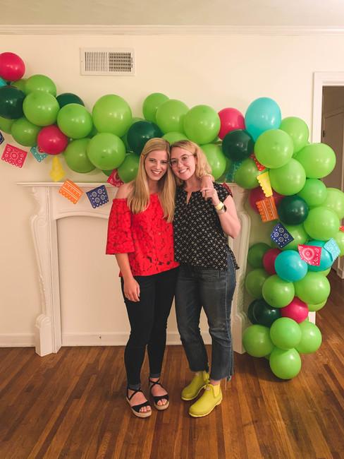 Event Balloon Installation Memphis Party