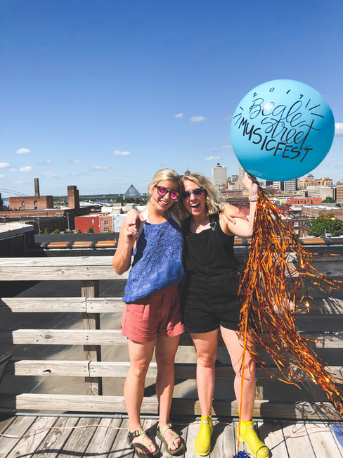 Custom Handlettered Jumbo Balloon
